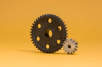 Optima parts, Central Gear and Pinion
